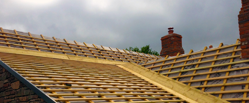 Roofing Work During Restoration