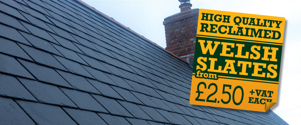 High Quality Reclaimed Welsh Slates